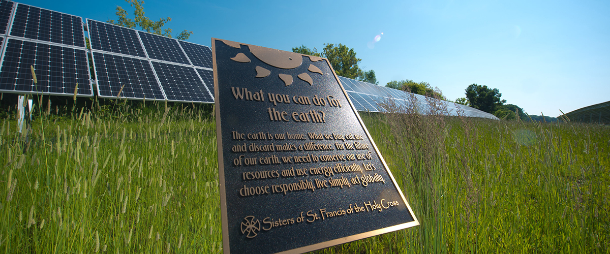 Welcome to our solar education walking path!